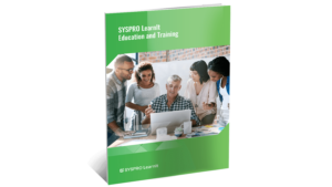 SYSPRO-ERP-software-system-Syspro-learnIt-education-and-training-brochure